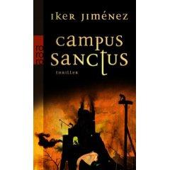"""Buchcover zu """"Campus Sanctus"""""""