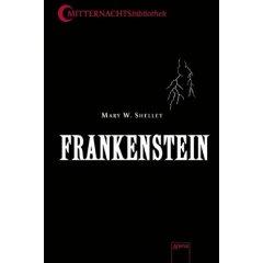 """Buchcover zu """"Frankenstein"""""""