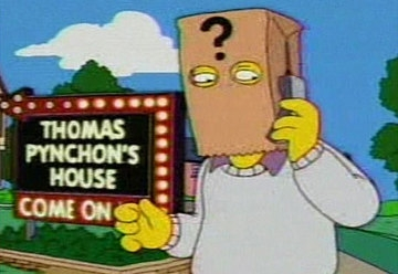 Thomas Pynchon bei den Simpsons