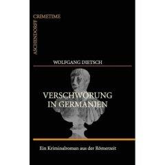 """Buchcover zu """"Verschwörung in Germanien"""""""